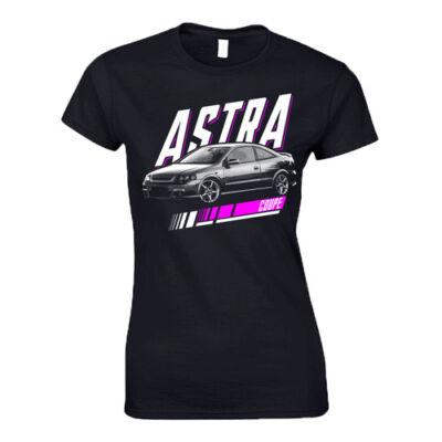 G Astra Coupe női póló (fekete)