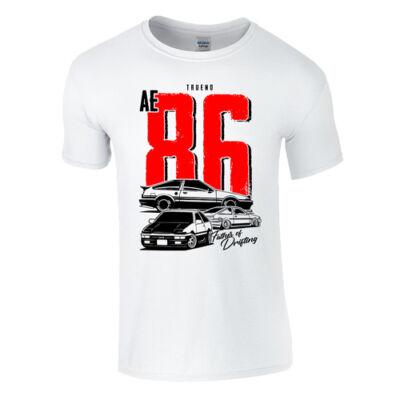 TRUENO AE 86 férfi póló (fehér)