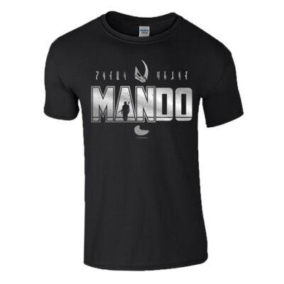 MAN-DO férfi póló(fekete)