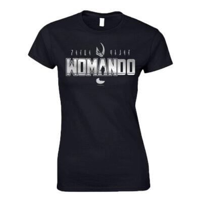 WOMAN-DO női póló(fekete)