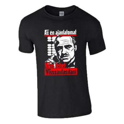 Az én ajánlatomat póló (Fekete)