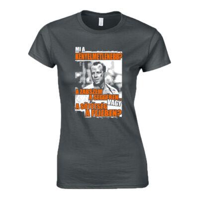 Mi a kényelmetlenebb női póló (Grafit)