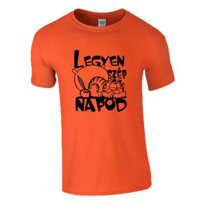Legyen szép napod póló (Narancs)