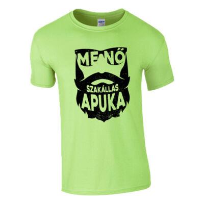 Menő szakállas apuka póló (Menta)