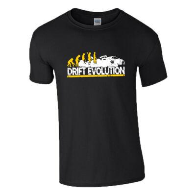 Drift evolution póló (Fekete)