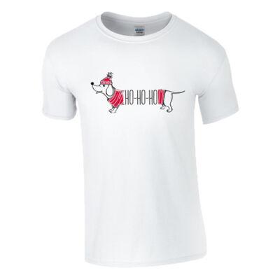 Karácsonyi Tacsi póló (Fehér)