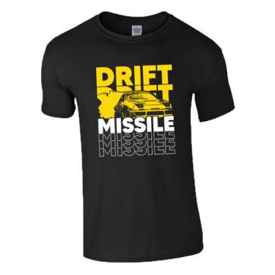 Drift Missile póló (Fekete)