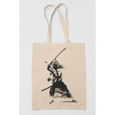 Samurai vászontáska (Natur)