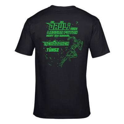 Menő futó póló (fekete)