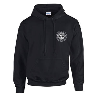 Labor Cafe támogatói kapucnis pulóver (Fekete)