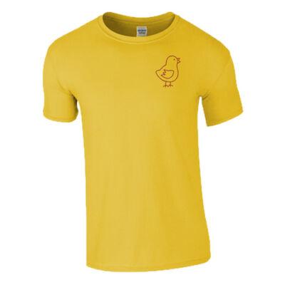 Csirketelep - Raba póló (Sárga)