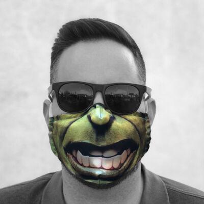 Hulk szájmaszk