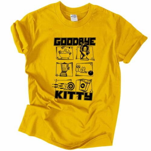 Goodbye Kitty póló (Citrom)