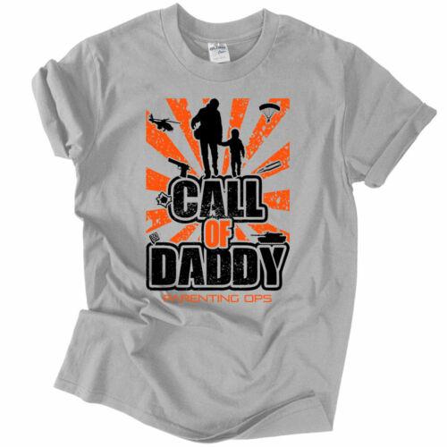 Call Of Daddy férfi póló (Szürke)