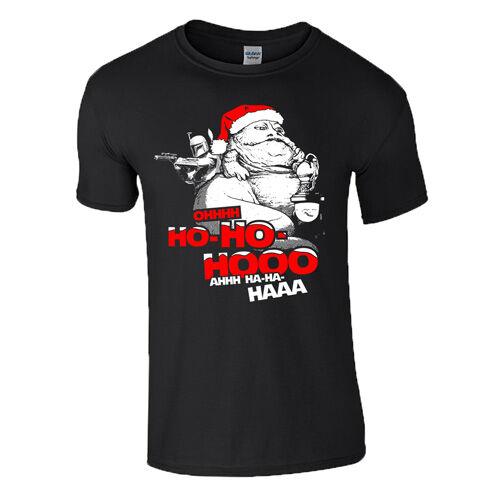 Santa Jabba férfi póló(fekete)