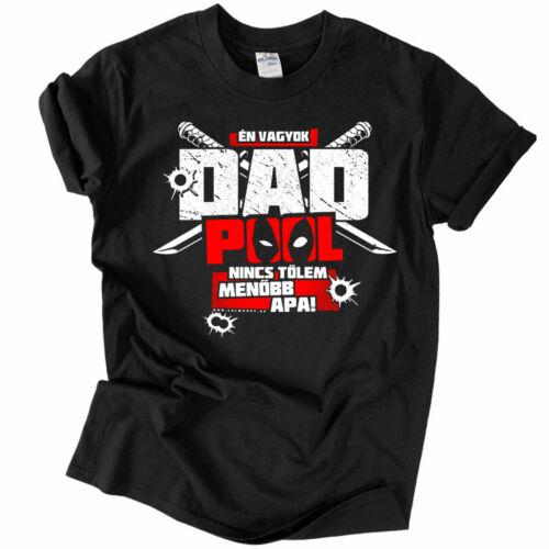 DAD POOL póló (fekete)