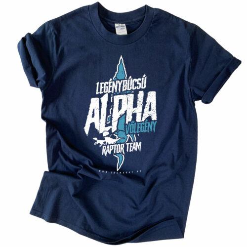 Alpha - Raptor Team (sötétkék)