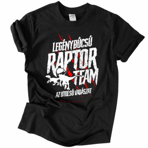 Raptor Team (fekete)