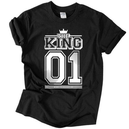 KING 01 (RD) férfi póló (fekete)