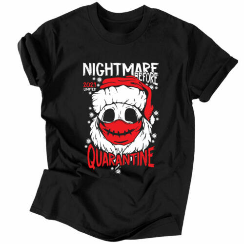 Nightmare before quarantine póló (Fekete)