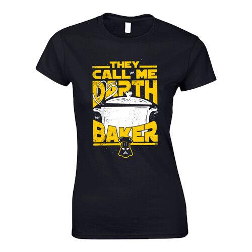 Darth Baker női póló (Fekete)