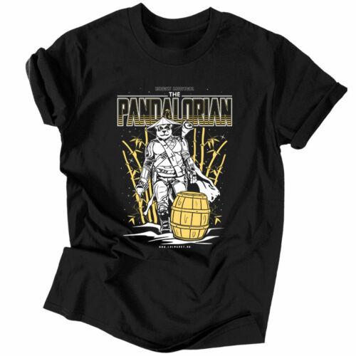 Pandalorian férfi póló (Fekete)
