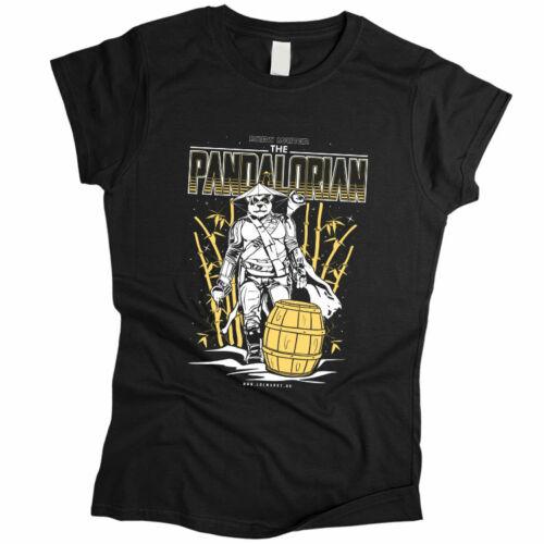 Pandalorian női póló (Fekete)