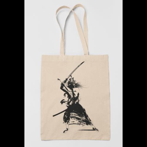 Samurai vászontáska (Natúr)
