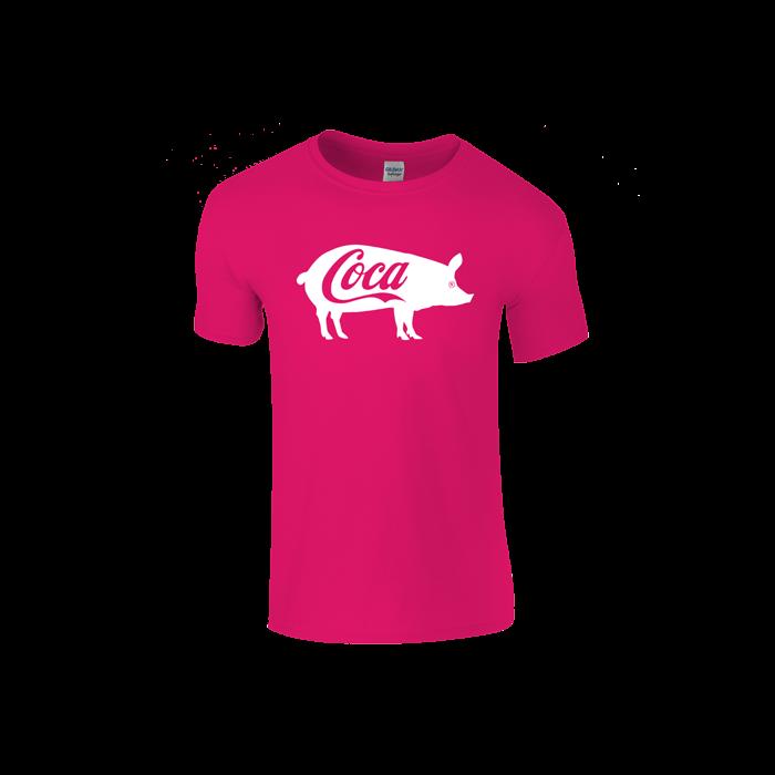05e9ef8eb2 Coca póló (rózsaszín)