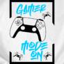 Kép 2/6 - Gamer Mode On (PS gamer) (B_fehér)